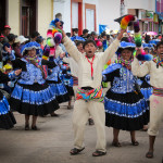 Stumbling on Virgin de la Candelaria Celebrations in Puno, Peru