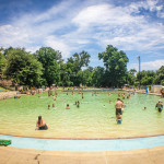 Summer in Austin: Deep Eddy Pool