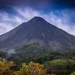 Wanderlust Wednesday – A Rare View of the Arenal Volcano